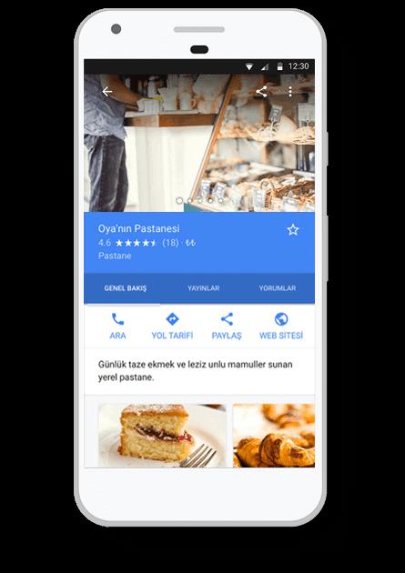 Ücretsiz Google İşletme Kaydı